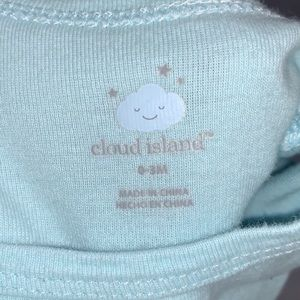 cloud island One Pieces - 3/$15 Cloud Island Short Sleeve Onesie Bodysuit